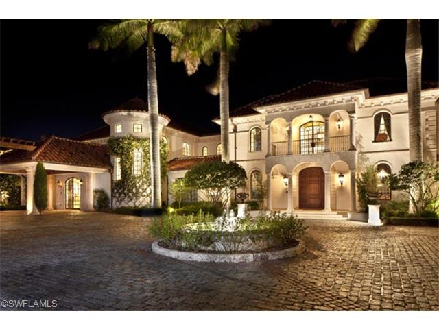 Naples homes for sale for Luxury mansions for sale in florida